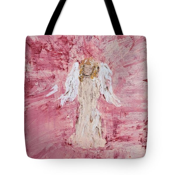 Angel Was Lost But Now Is Found  Tote Bag