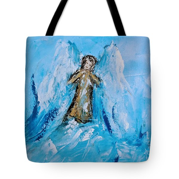 Angel With A Purpose Tote Bag