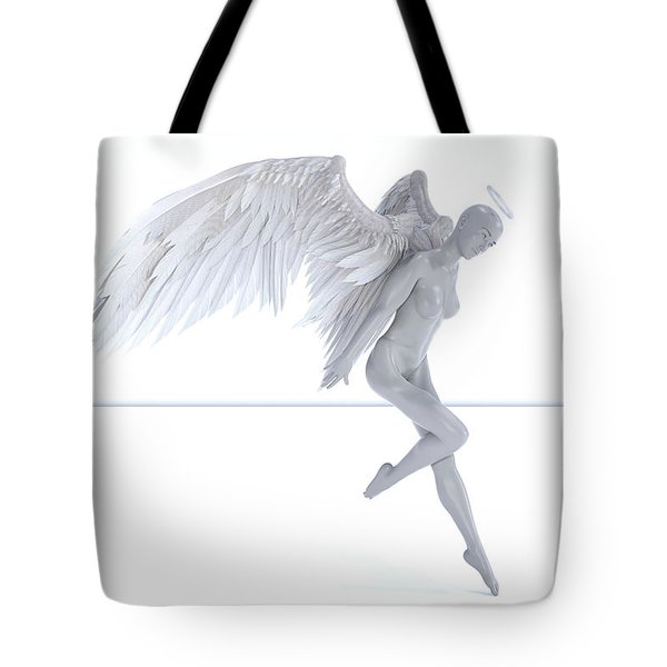 Angelic Touch Tote Bag