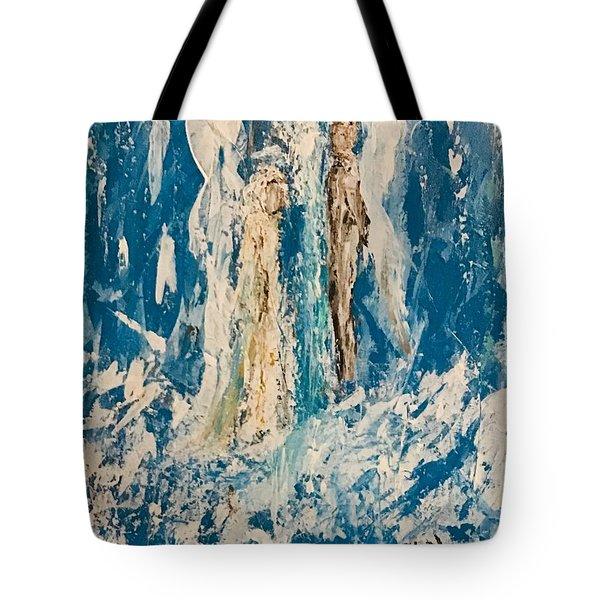 Angelic Angels Tote Bag