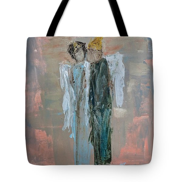 Angels In Love Tote Bag