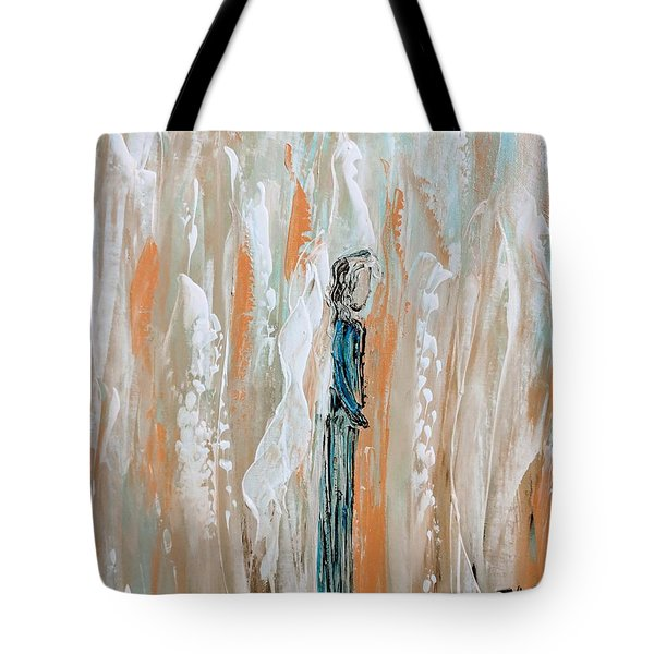 Angels In The Midst Of Every Day Life Tote Bag
