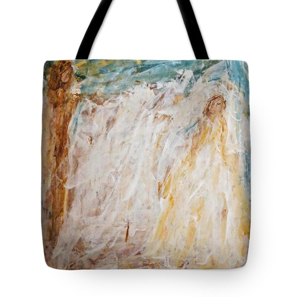 Angels Of Peace Tote Bag
