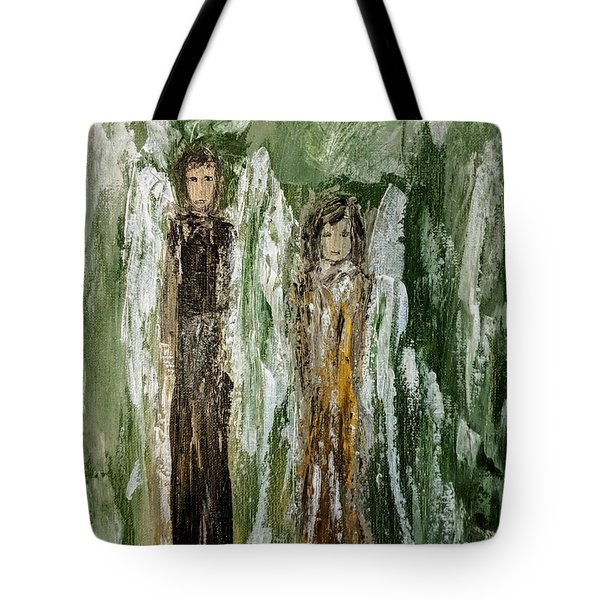 Angels For Support Tote Bag