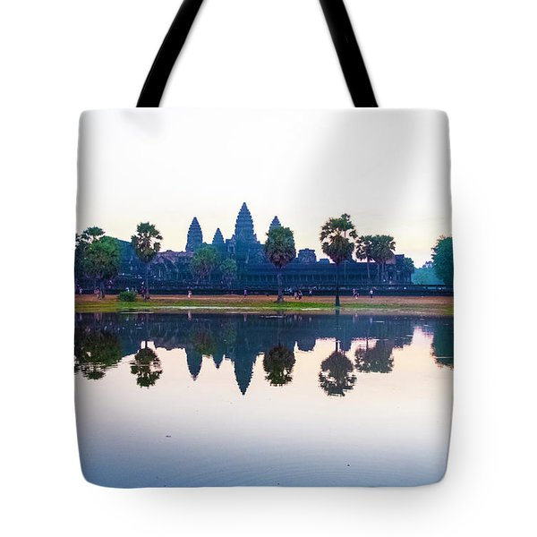 Angkor Wat Reflections Tote Bag