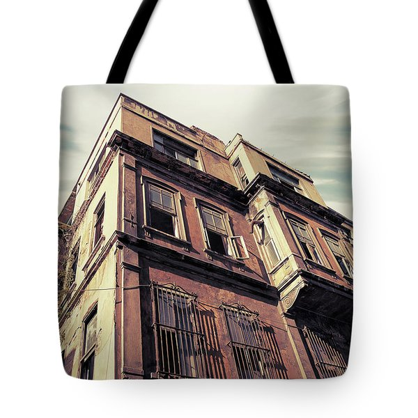 Angles Of Attrition Tote Bag