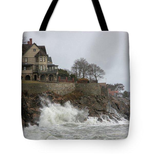 Angry Splash Tote Bag