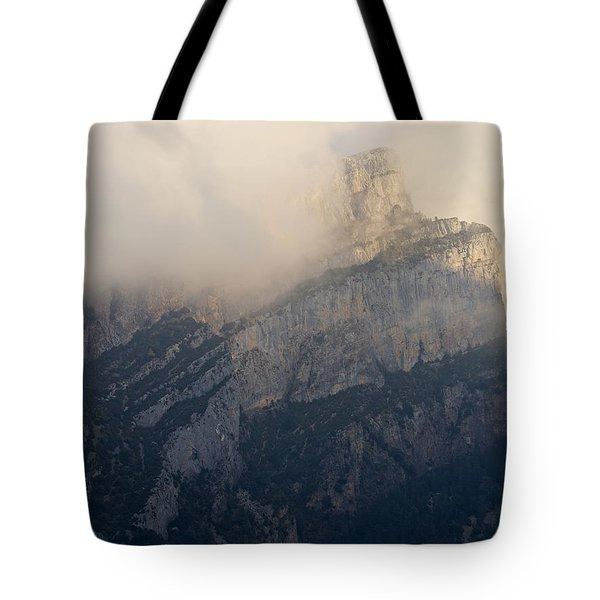 Tote Bag featuring the photograph Anisclo Abstract by Stephen Taylor