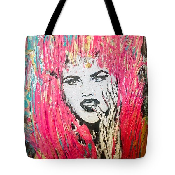 Anna Nicole Tote Bag
