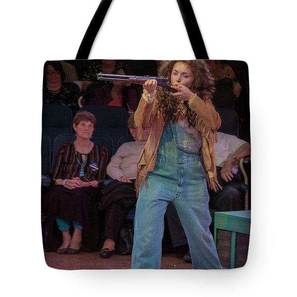 Annie Got Her Gun Tote Bag