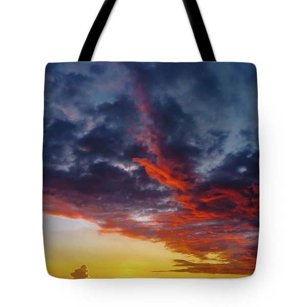 Another Colorful Sky Tote Bag