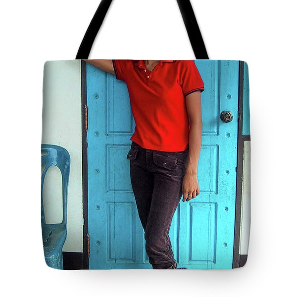 Another Lovely Smile Tote Bag