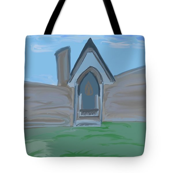 Another Place And Time Tote Bag