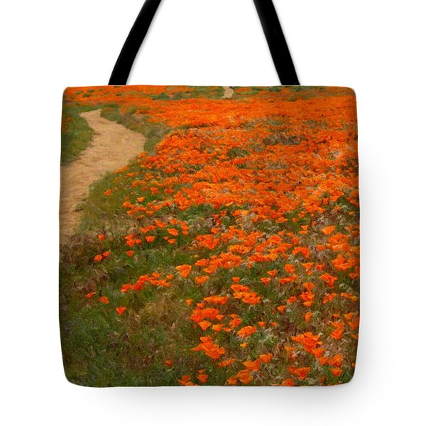 Antelope Valley Tote Bag