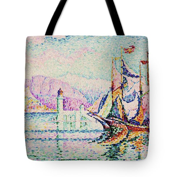 Antibes, Morning - Digital Remastered Edition Tote Bag