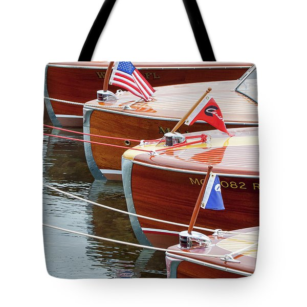 Antique Wooden Boats In A Row Portrait 1301 Tote Bag