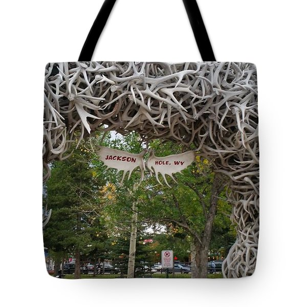 Antler Arch  Tote Bag