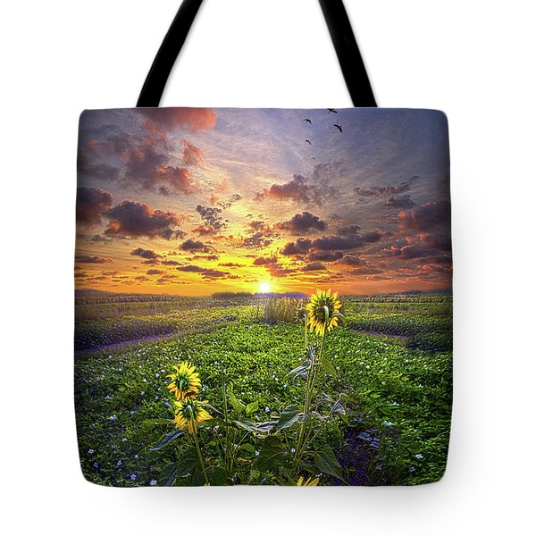 Tote Bag featuring the photograph Any Time At All by Phil Koch
