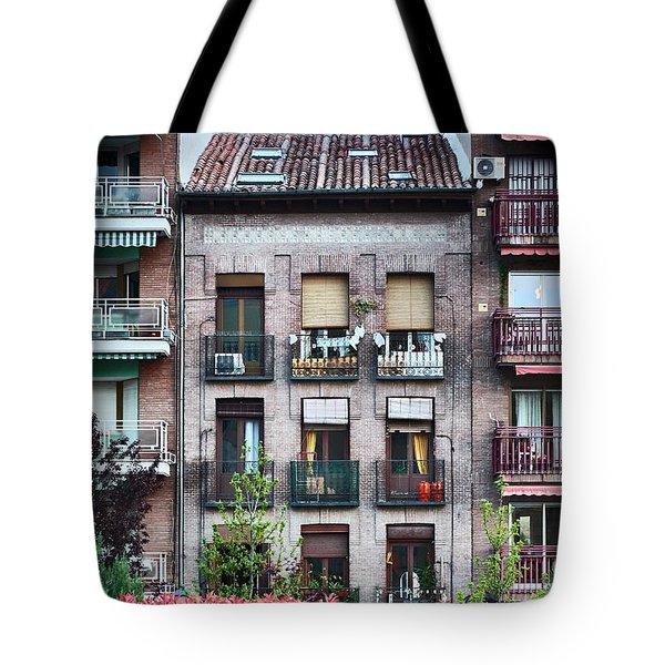 Apartments In Madrid Tote Bag