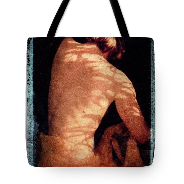 Tote Bag featuring the mixed media Aphrodite II by Catherine Sobredo