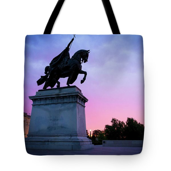 Apotheosis Of St. Louis, King Of France Tote Bag