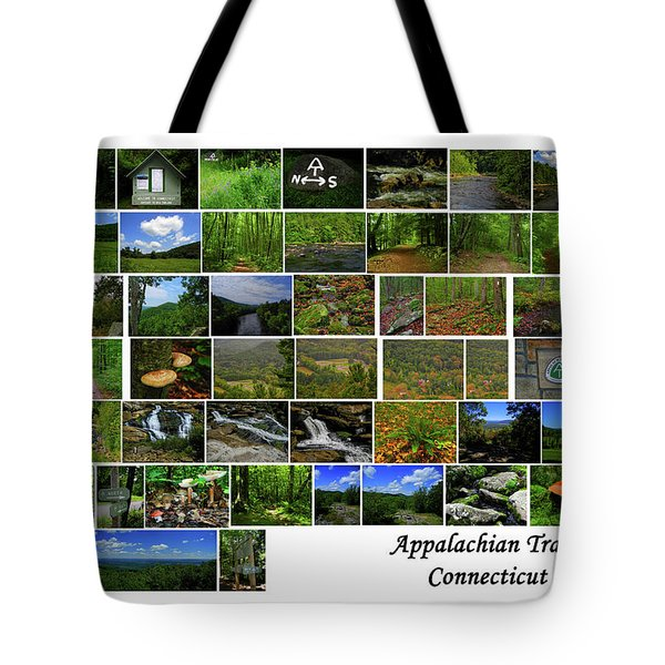 Tote Bag featuring the photograph Appalachian Trail Connecticut by Raymond Salani III