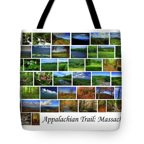 Tote Bag featuring the photograph Appalachian Trail Massachusetts by Raymond Salani III