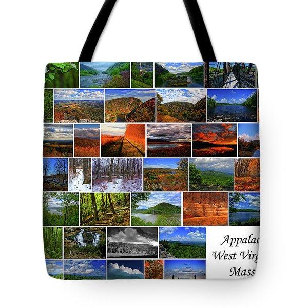 Tote Bag featuring the photograph Appalachian Trail West Virginia Through Massachusetts by Raymond Salani III