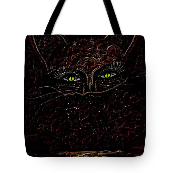 Appearance Of The Mystic Cat Tote Bag