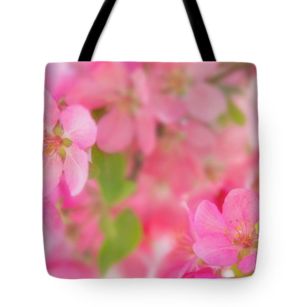 Tote Bag featuring the photograph Apple Blossom 4 by Leland D Howard