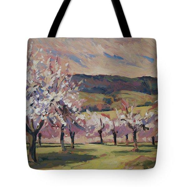 Apple Blossom Geuldal Tote Bag