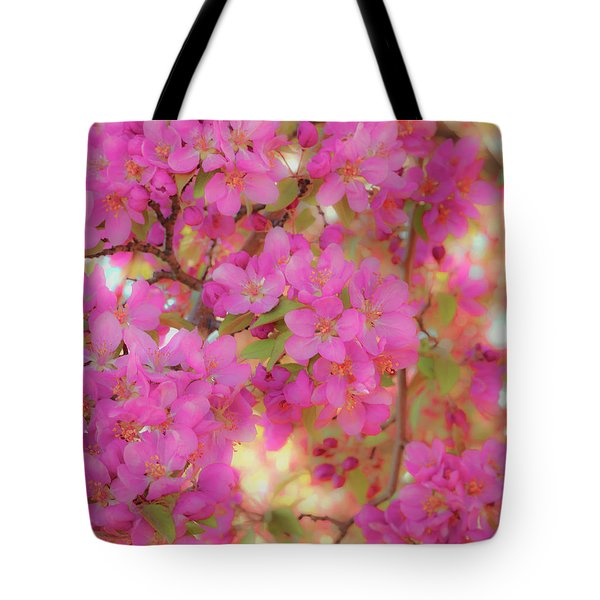 Apple Blossoms C Tote Bag
