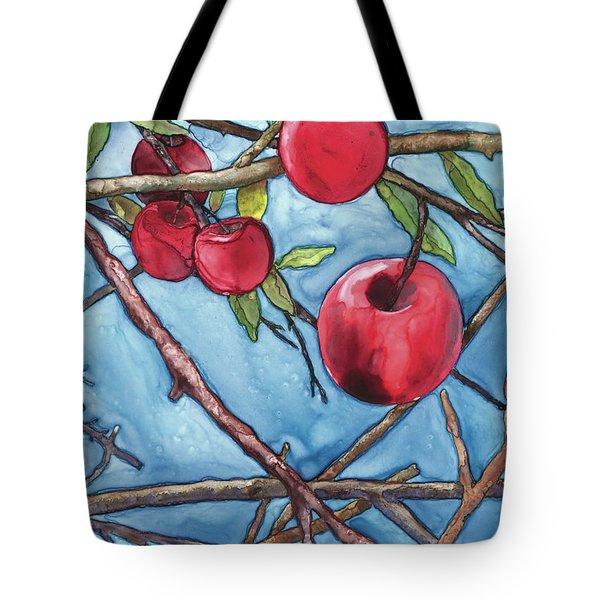 Apple Harvest Tote Bag