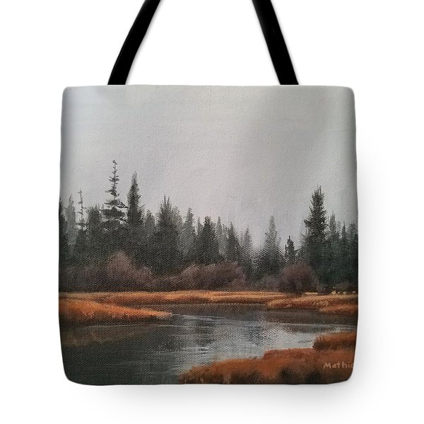 Approaching Flurries Tote Bag