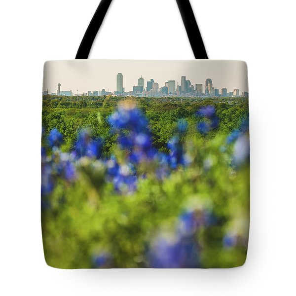 April In Dallas Tote Bag