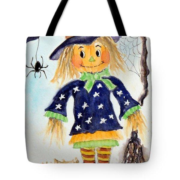 Arachnid Angelica Tote Bag