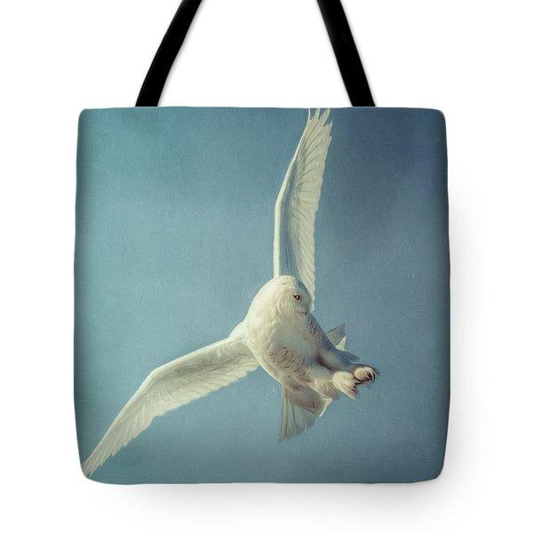 Arctic Angel Tote Bag