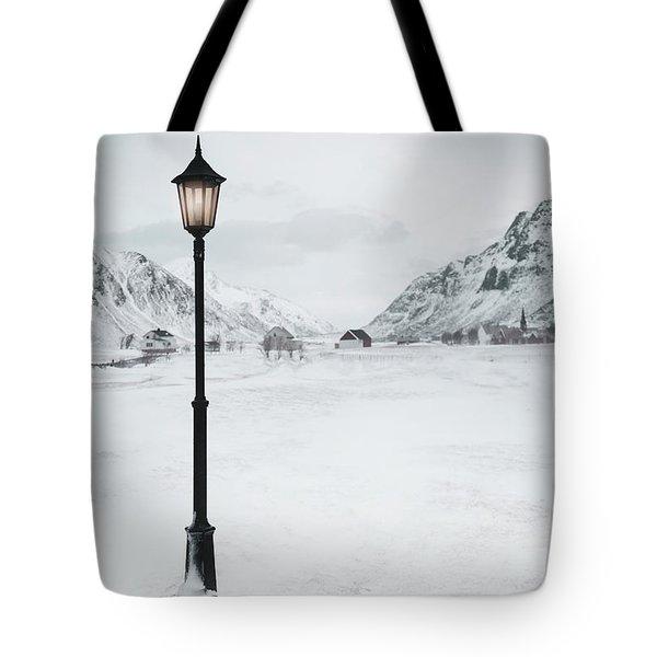 Arctic Echoes Tote Bag