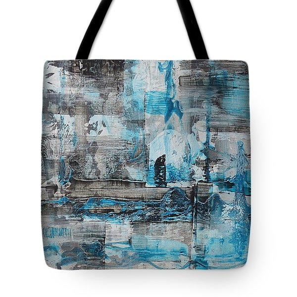 Tote Bag featuring the painting Arctic by 'REA' Gallery