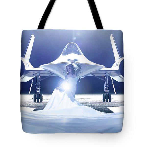 Area 71 A Nge Lien Tote Bag