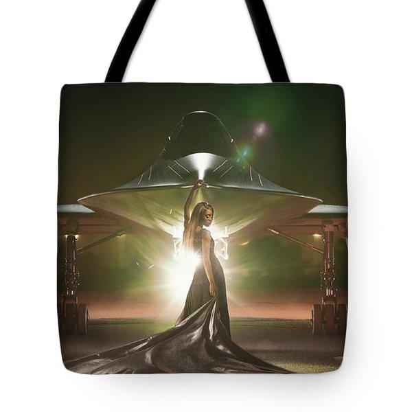 Area 71 Revelation Tote Bag