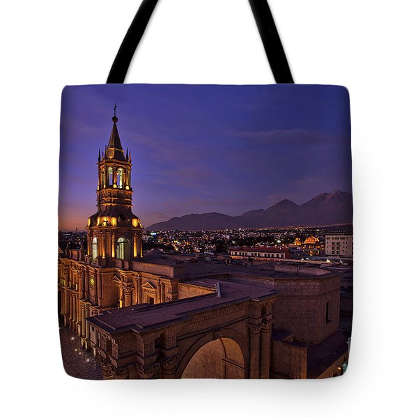 Arequipa Is Peru Best Kept Travel Secret Tote Bag