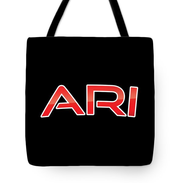 Tote Bag featuring the digital art Ari by TintoDesigns