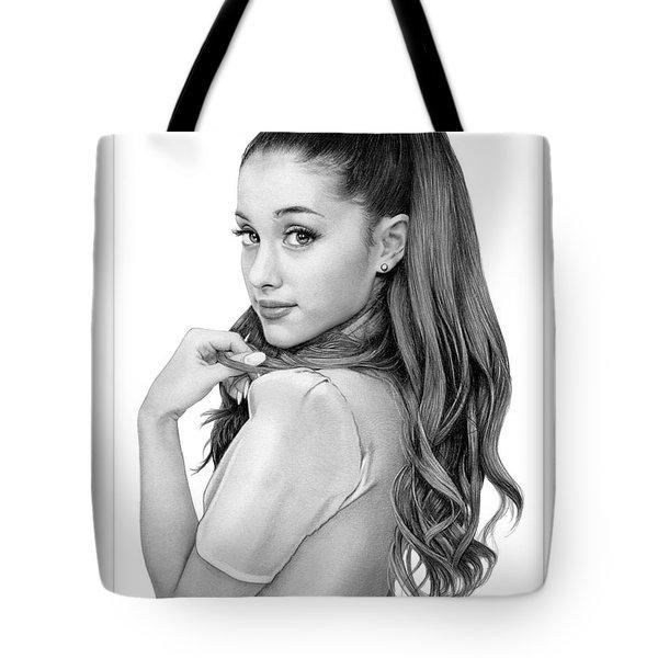 Ariana Grande Drawing Tote Bag