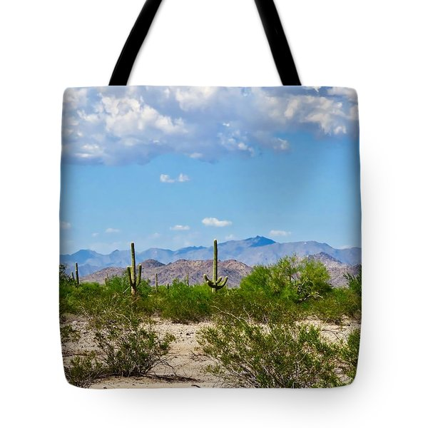 Arizona Desert Hidden Valley Tote Bag