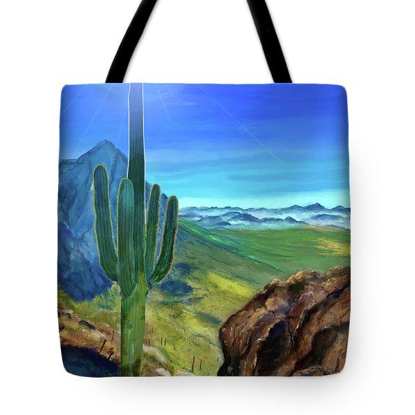 Arizona Heat Tote Bag