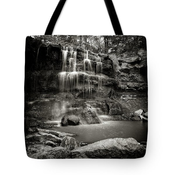 Rock Glen Falls Tote Bag