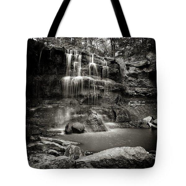Rock Glen Falls Tote Bag