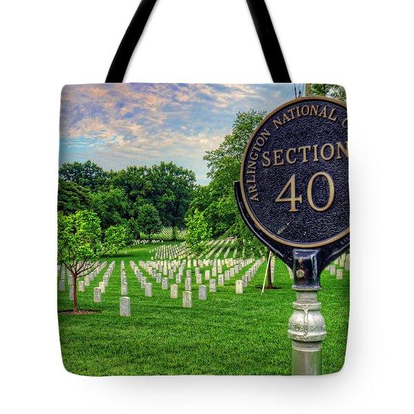 Arlington National Cemtery Tote Bag