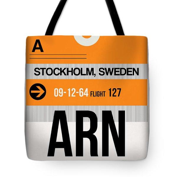 Arn Stockholm Luggage Tag I Tote Bag